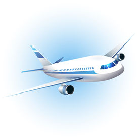 Iillustration Of The Airplane