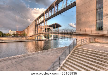 Berlin Government Buildings On Spree