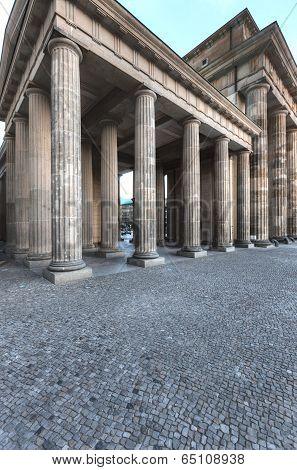 Brandenburg Gate From Side