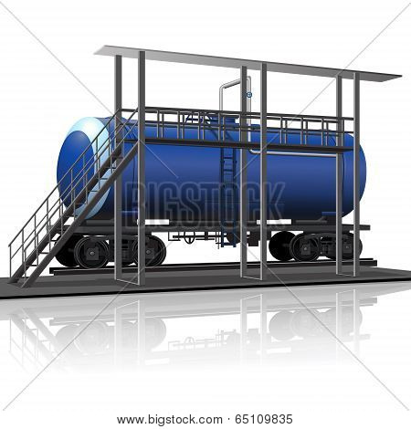 Overpass To Load Petroleum Products
