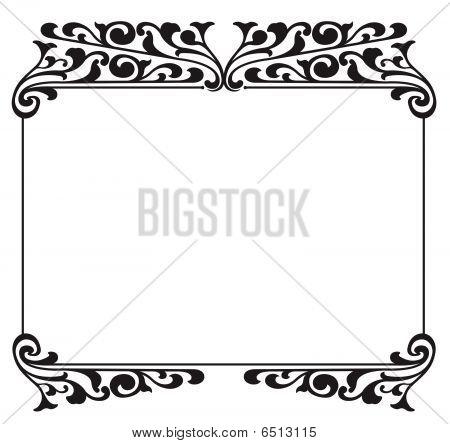 Wrought Iron Frame