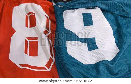 Set Of Different Team Uniforms