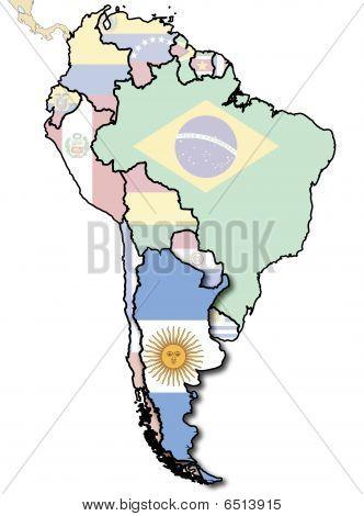 Argentina Flag Territory