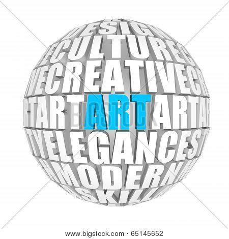 Art sphere.
