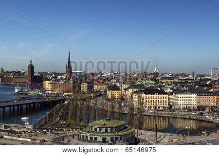 View Of Gamla Stan, Stockholm