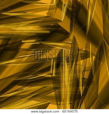 Angular Gold Abstract