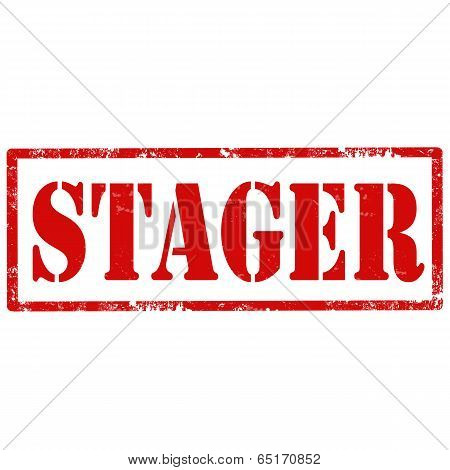 Stager-stamp