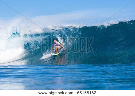 Surfing A Wave.