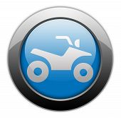 Image Graphic Icon Button Pictogram with ATV symbol poster