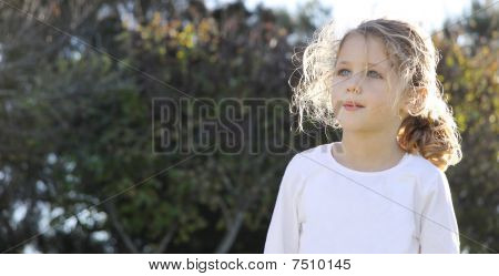 Child Looking Up