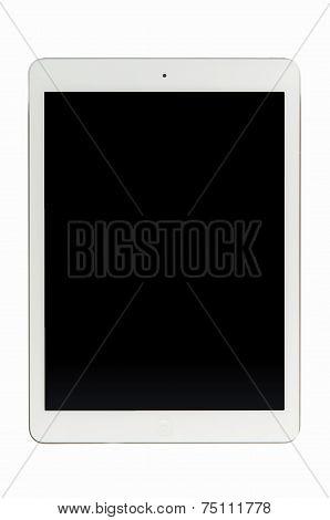 Blank black screen iPad Air