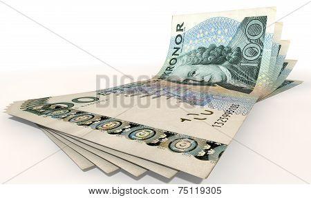 Kronor Bank Notes Spread