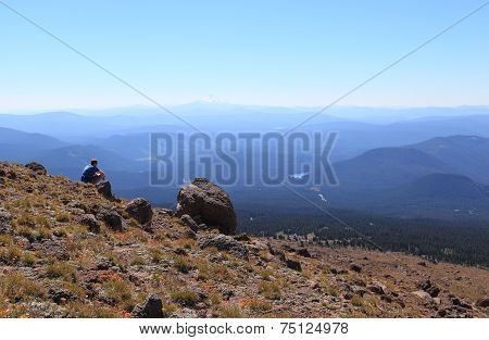 On the Mountainside