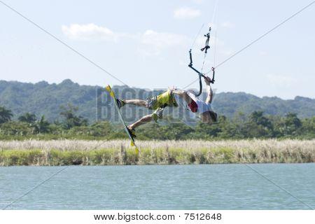 Kiting In Dominican Republic
