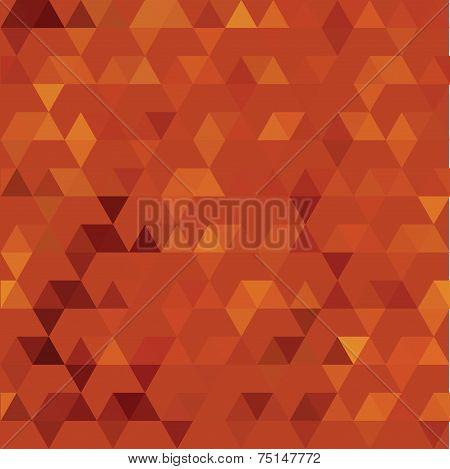 Pattern of geometric shapes. Colorful mosaic backdrop. Geometric retro background poster