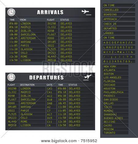 Flight Information - Set 1 - Delayed Flights