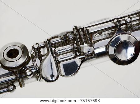 Silver Flute Keys
