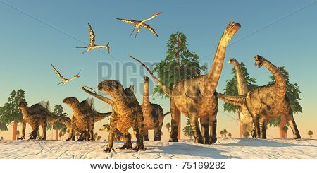 Dinosaur Drought Migration