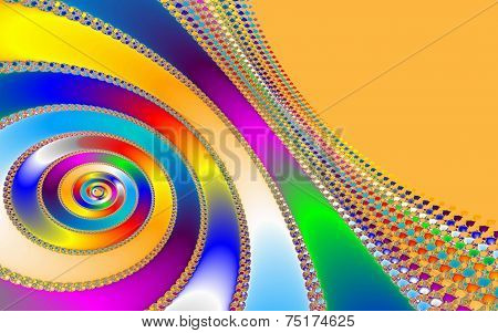 Colorful Fractal Background