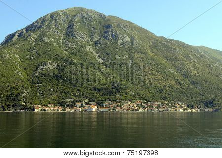 View At Boka Kotorska Bay, Montenegro
