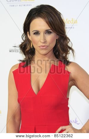 LOS ANGELES - JAN 8: Lacey Chabert at the TCA Winter 2015 Event For Hallmark Channel and Hallmark Movies & Mysteries at Tournament House on January 8, 2015 in Pasadena, CA