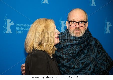 BERLIN, GERMANY - FEBRUARY 11: Michael Stipe. 'Fifty Shades of Grey' International Premiere. 65th Berlinale International Film Festival at Zoo Palast on February 11, 2015
