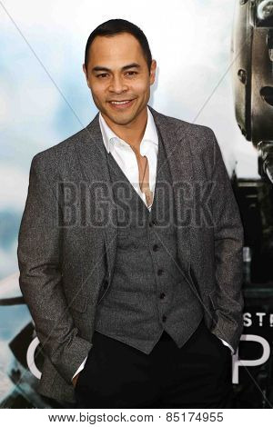 NEW YORK-MAR 4: Actor Jose Pablo Cantillo attends the premiere of