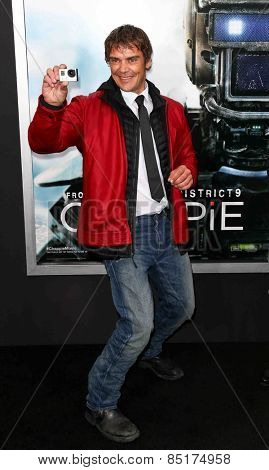 NEW YORK-MAR 4: Actor Brandon Auret attends the premiere of