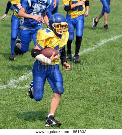 Running for the Touchdown 2