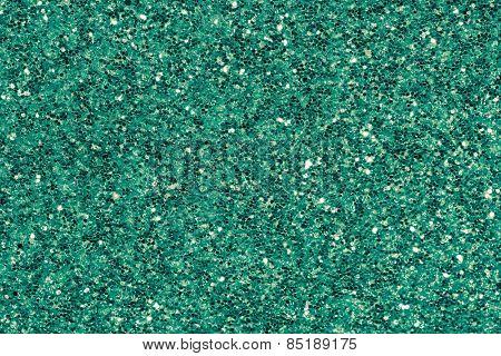 green emerald glitter makeup background