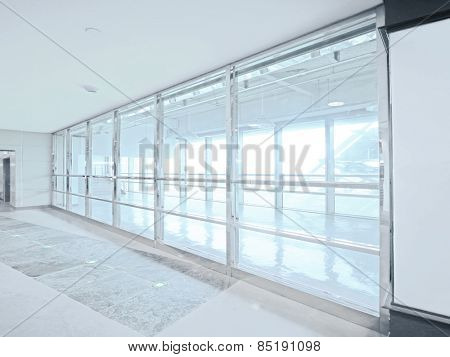 Bright window and walkway