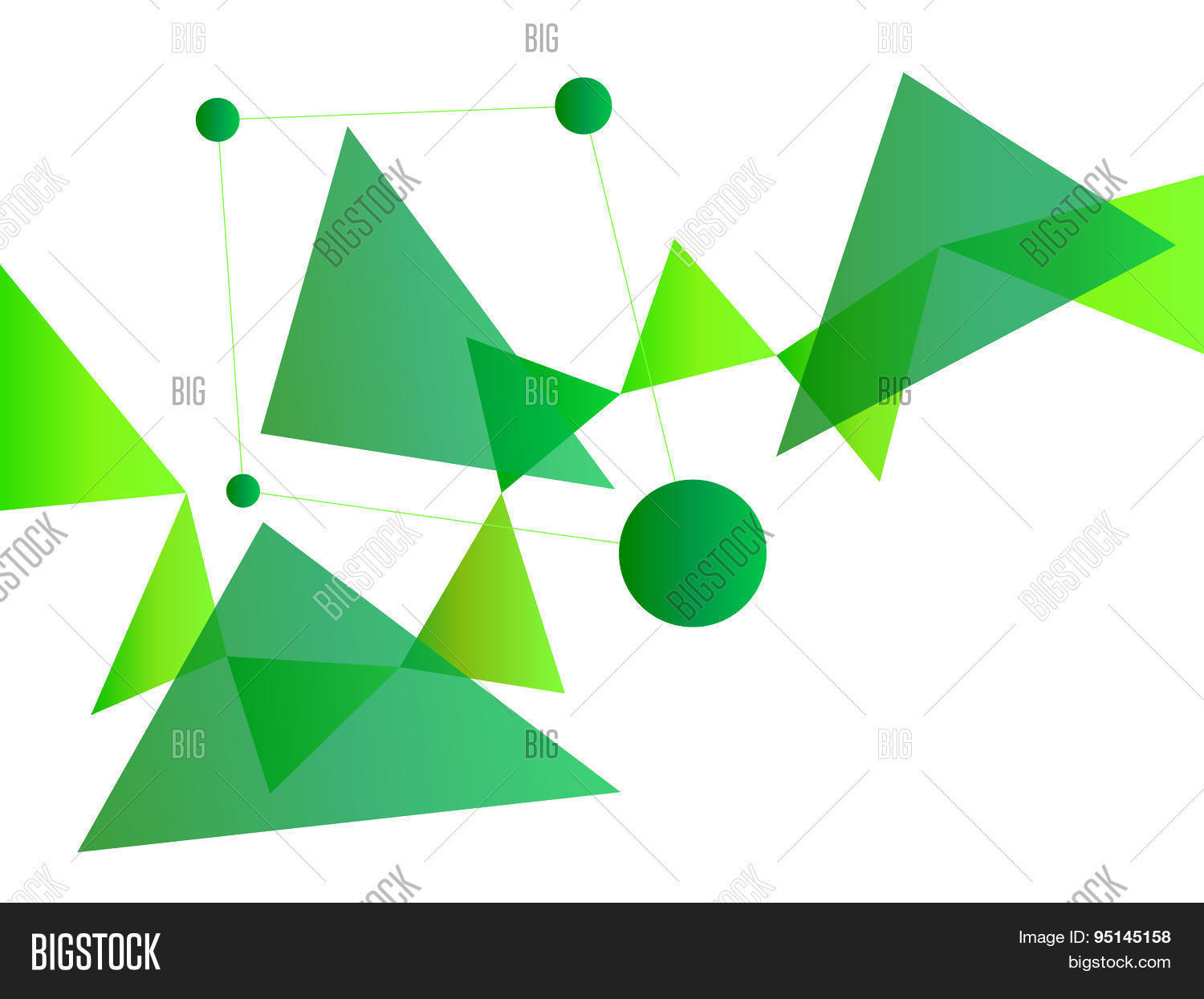 Neon Green Abstract Vector Photo Free Trial Bigstock