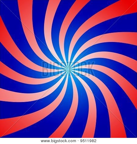 Red And Blue Twist