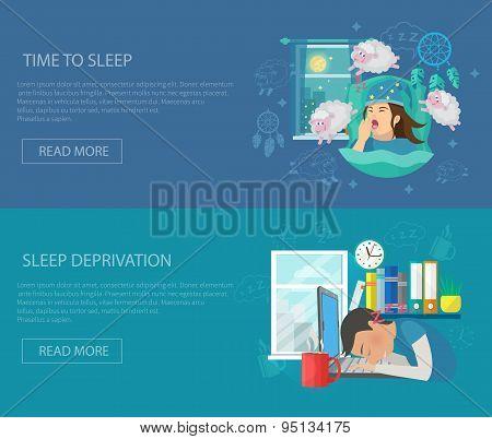 Sleep Time Banner