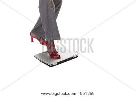 Laptop Stepping Stone