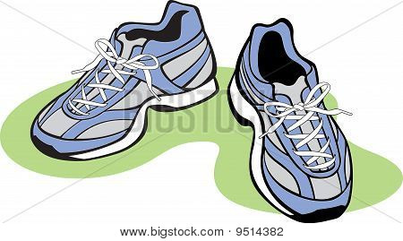 Pair of Athletic Shoes