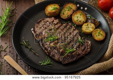Beef Rib Eye Steak