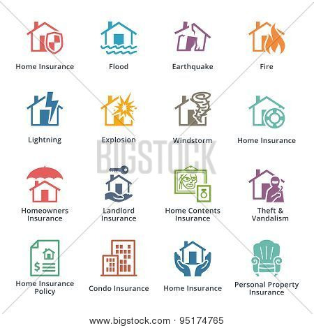 Home Insurance - Colored Series