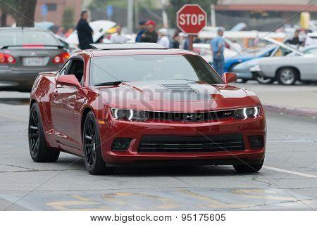 Chevrolet Camaro Ss Car On Display