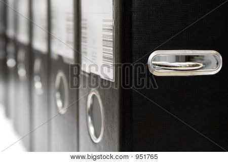 Arch Lever Files In A Row