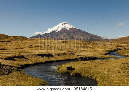 Stream And Cotopaxi