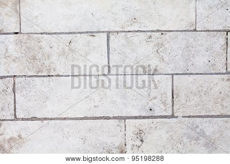 White Brickwork