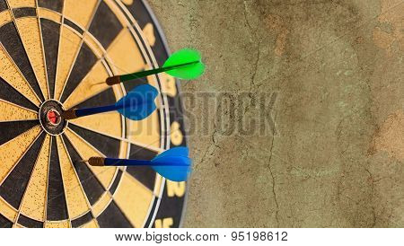 Retro Darts Board