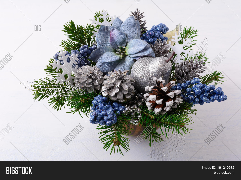 Christmas Greenery Centerpieces.Christmas Greenery Image Photo Free Trial Bigstock
