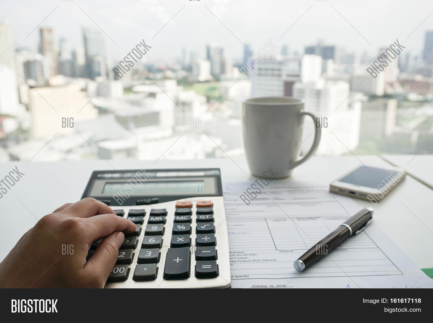 Accountant Calculator Image & Photo (Free Trial) | Bigstock