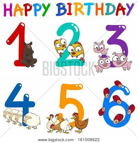Birthday Greeting Card Collection