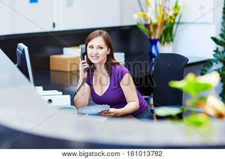 Business, Communication And Call Center Concept