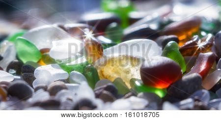 Sparkling Sea Glass