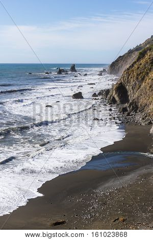 Relaxing Coastal Scene