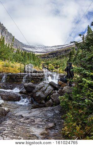 Glacier Melt Water Fall